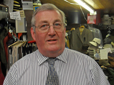 Wallhead's menswear shop has been serving Brigg since the 1890s - picture by Ken Harrison on Nigel Fisher's Brigg Blog