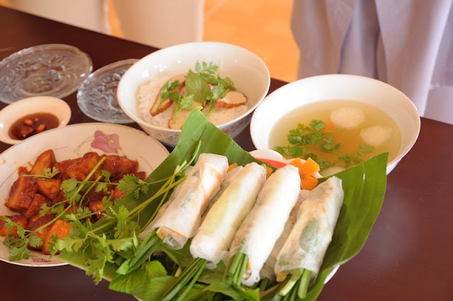 Culture feature in Vietnamese food