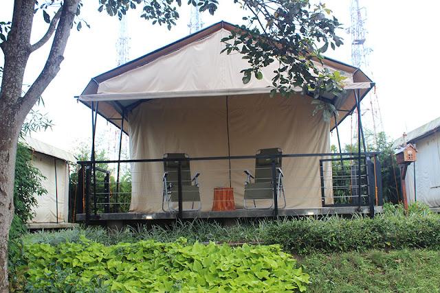 Kemping Mewah di Trizara Resort Itu Seru Tahu