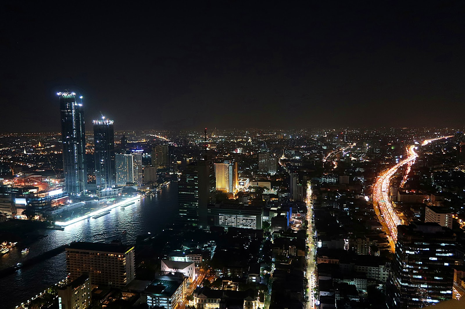 Tajlandia Bangkok, widok z 59 piętra Lebua State Tower