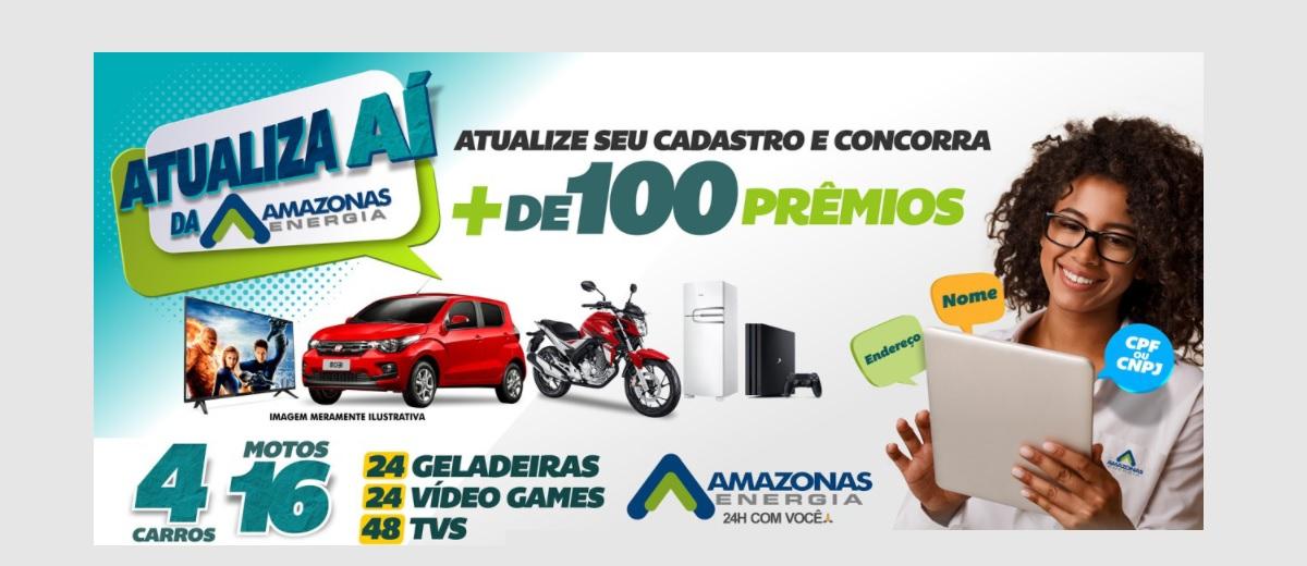 Participar Promoção Amazonas Energia 2021 Atualiza Aí - Atualizar Cadastro Prêmios