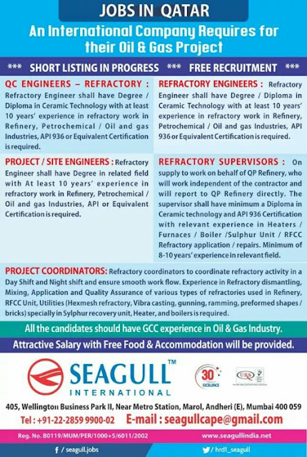 Cape plc Jobs at Seagull International