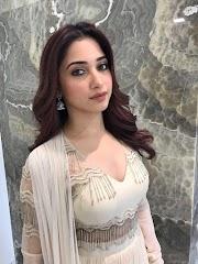 Beautiful Girl Tamannaah Photoshoot In White Dress