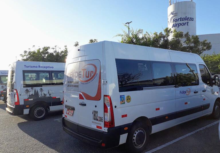 Serviço de vans em Fortaleza