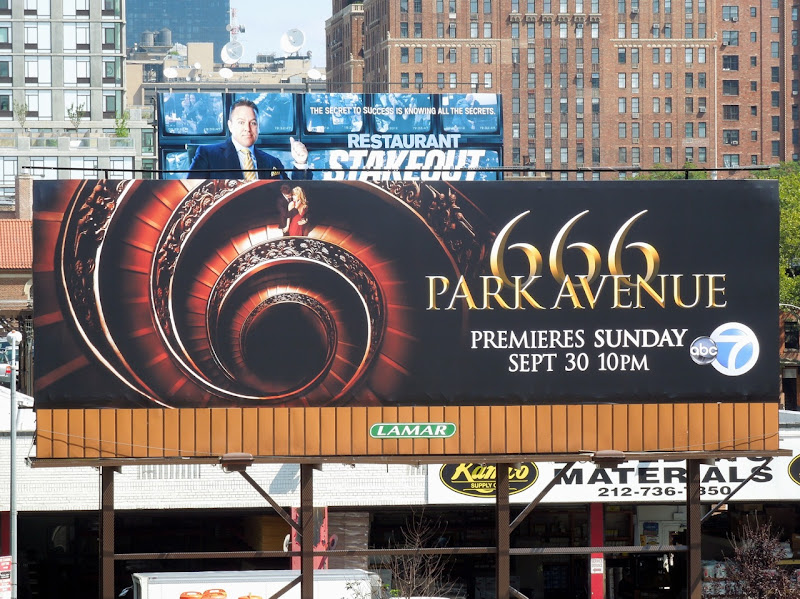 666 Park Avenue TV billboard