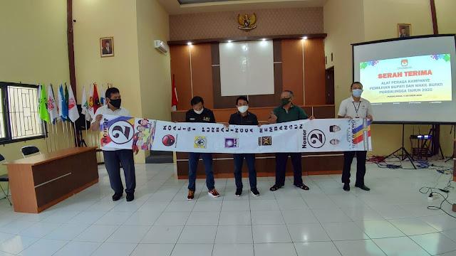 KPU Purbalingga Fasilitasi Alat Peraga Kampanye