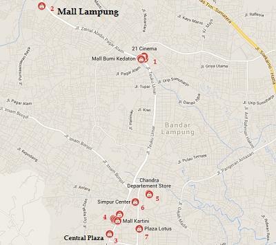 mall di Lampung