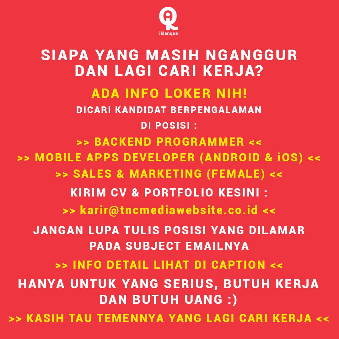 Iklanque Lowongan Kerja Di Jakarta Selatan Khusus It