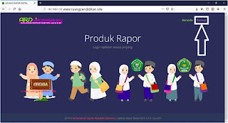aplikasi rapor digital madrasah