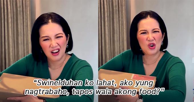 Kris Aquino, hindi nagustuhan ang inasal ng kanyang mga staff dahil inubusan siya ng mga ito ng pagkain!