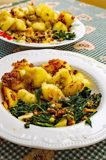 patate e tarassaco
