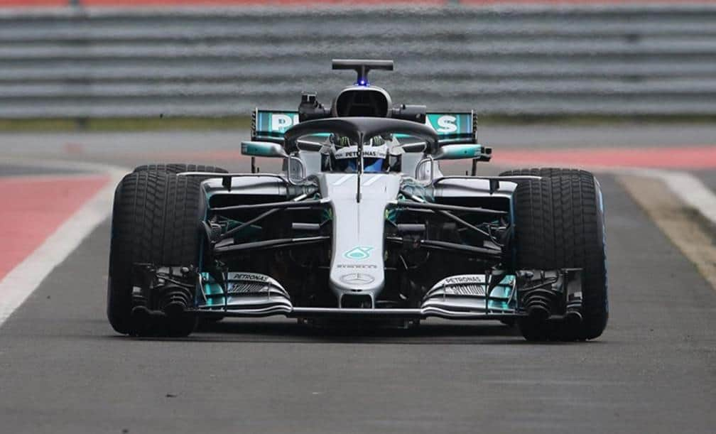 Mercedes F1 2018 Car Drivers