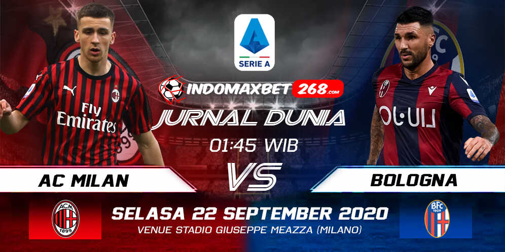 Prediksi AC Milan Vs Bologna 22 September 2020 Pukul 01.45 WIB
