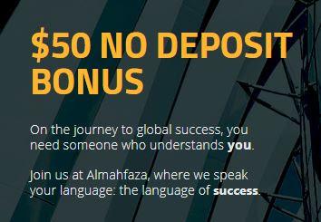 Bonus Forex Tanpa Deposit Almahfaza $50