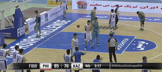 HIGHLIGHTS: Gilas Pilipinas vs. Kazakhstan (VIDEO) 2016 FIBA Asia Challenge