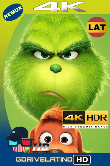 El Grinch (2018) BDRemux 2160P 4K HDR Latino-Ingles mkv