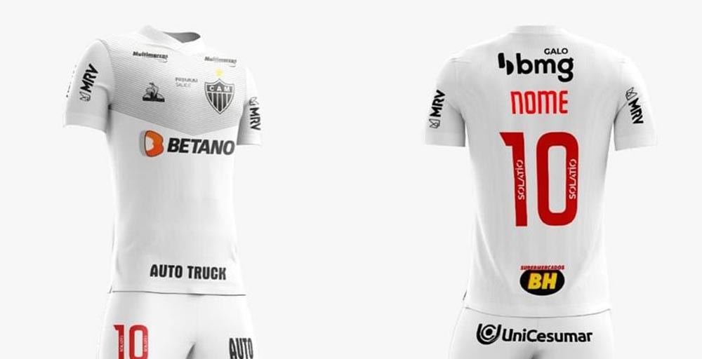 Atlético Mineiro 2021 Home Kit Released Away Leaked - Footy ...