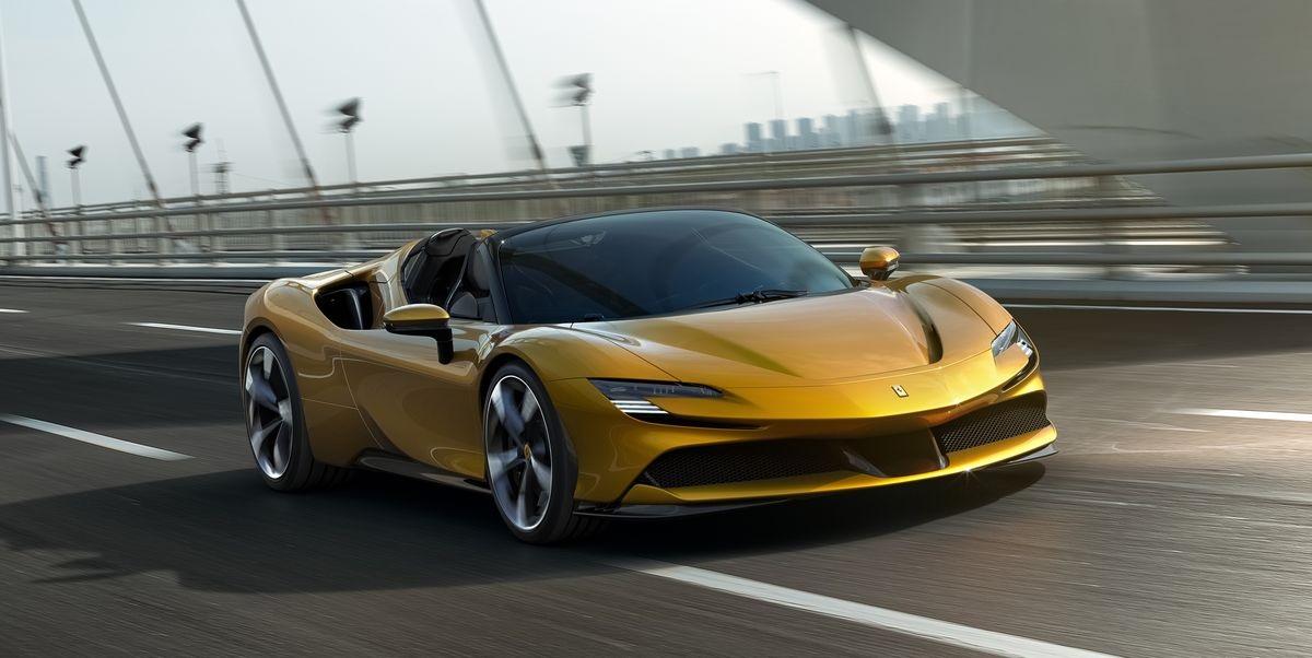 The 2021 Ferrari SF90 Spider