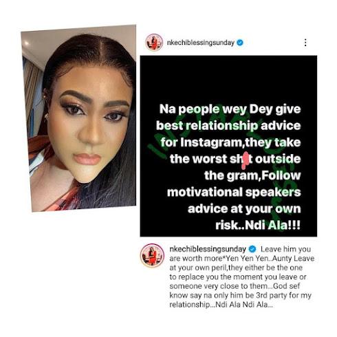 Nigerian actress, Nkechi Blessing Sunday