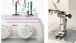 rueda puntada maquina de coser janome 3622S