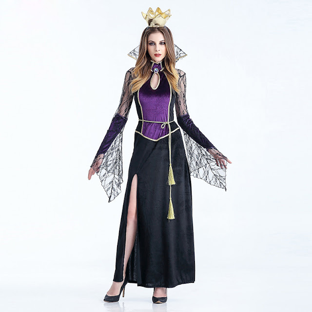 The costumes of monsters, vampires or wizards