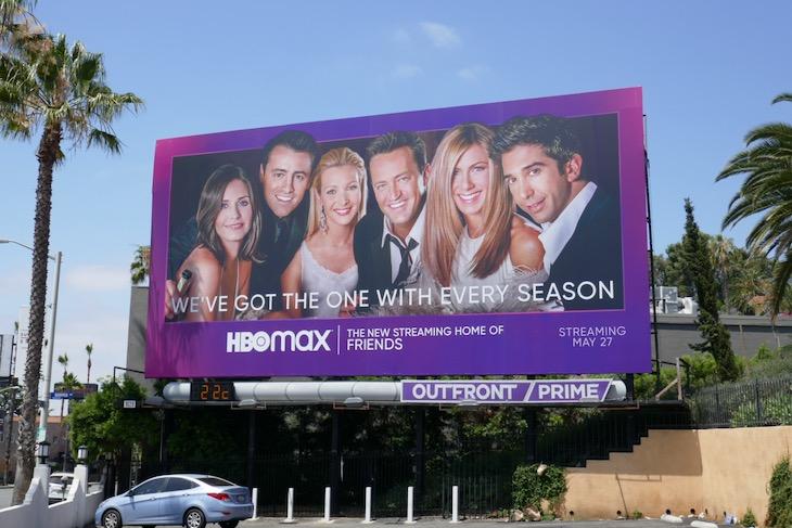 HBO Max Friends billboard