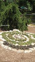 Spiral rock garden, Elizabeth Park - West Hartford, CT
