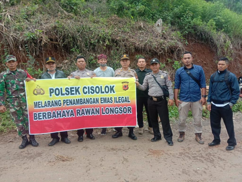 Polisi Larang Penambangan Emas di Cisolok Sukabumi