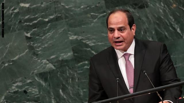 السيسي: الجيش المصري يحافظ على مدنية واستقرار الدولة ويحمي الديمقراطية