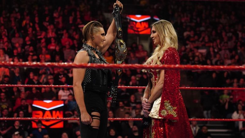 Charlotte Flair if she becomes the NXT Women's Champion at WrestleMania 36