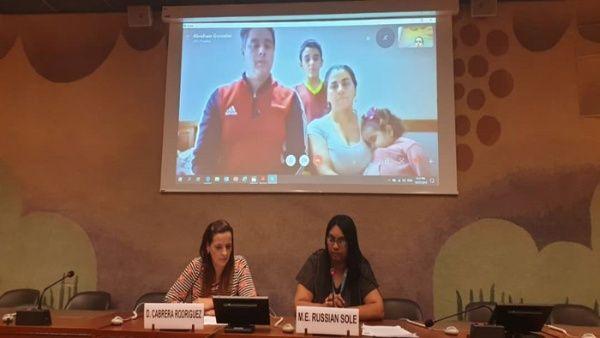Pacientes venezolanos denuncian ante ONU consecuencias del bloqueo de EE.UU.