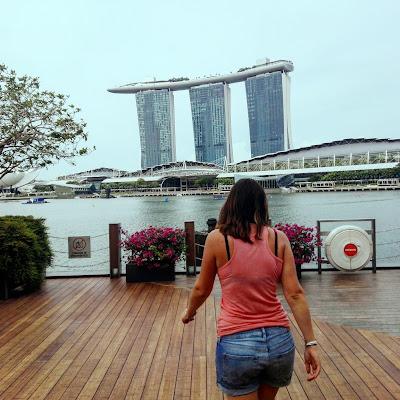 vistas de Marina Bay desde Lantern, Singapur