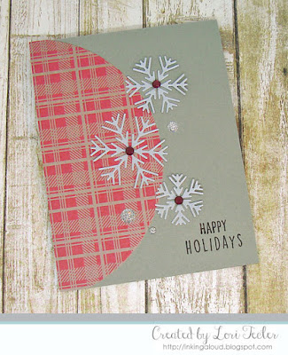 Snowflake Trio card-designed by Lori Tecler/Inking Aloud-stamps and dies from Reverse Confetti