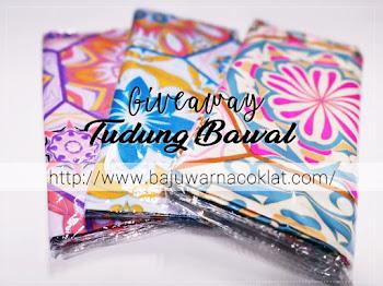 Giveaway Tudung Bawal by Cik Puan Rrai