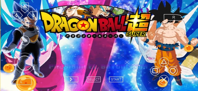 Dragon Ball Super DBZ TTT MOD PSP ISO With Permanent Menu