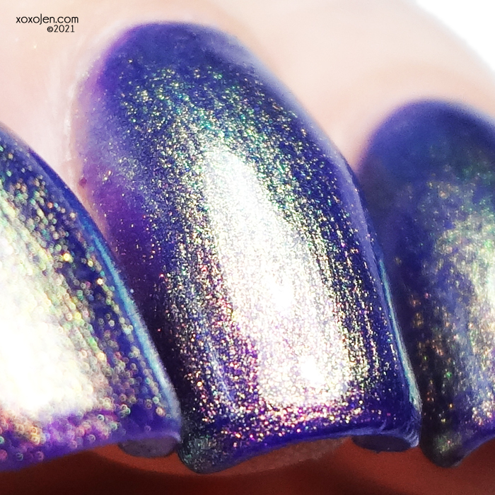 xoxoJen's swatch of KBShimmer Lust at Sea