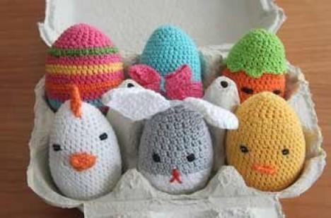 Idee per la pasqua le uova ad uncinetto gomitoli magici for Idee uncinetto