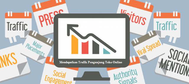 Tips Mendapatkan Trafik Pengunjung Toko Online