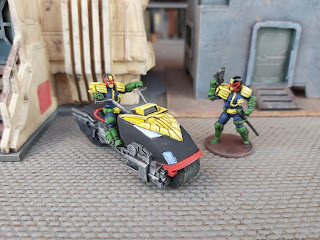 Warlord Games' Judge Dredd miniatures