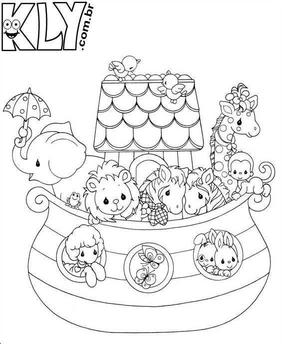 Desenhos Da Arca De Noe Para Colorir Crianca Feliz E Alfabetizada
