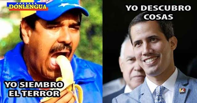 Juan Guaidó descubre que el Régimen de Maduro quiere sembrar el terror como los nazis