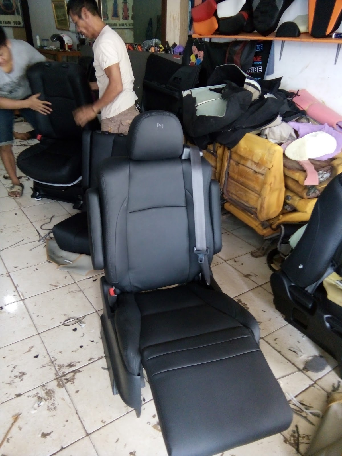 ALVARO JOK MOBIL INTERIOR CAR LEATHER SEAT VARIASI JOK DAN ...