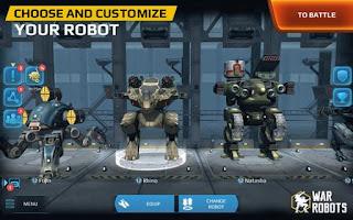 War Robot Mod APK Vip For Free