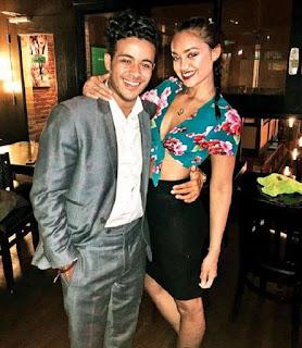 Christian Navarro with his so called girlfriend Shazi Raja