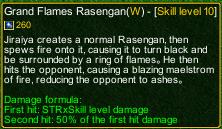 naruto castle defense 6.0 Grand Flame Rasengan detail