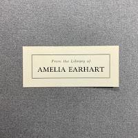 Image of Amelia Earhart's bookplate