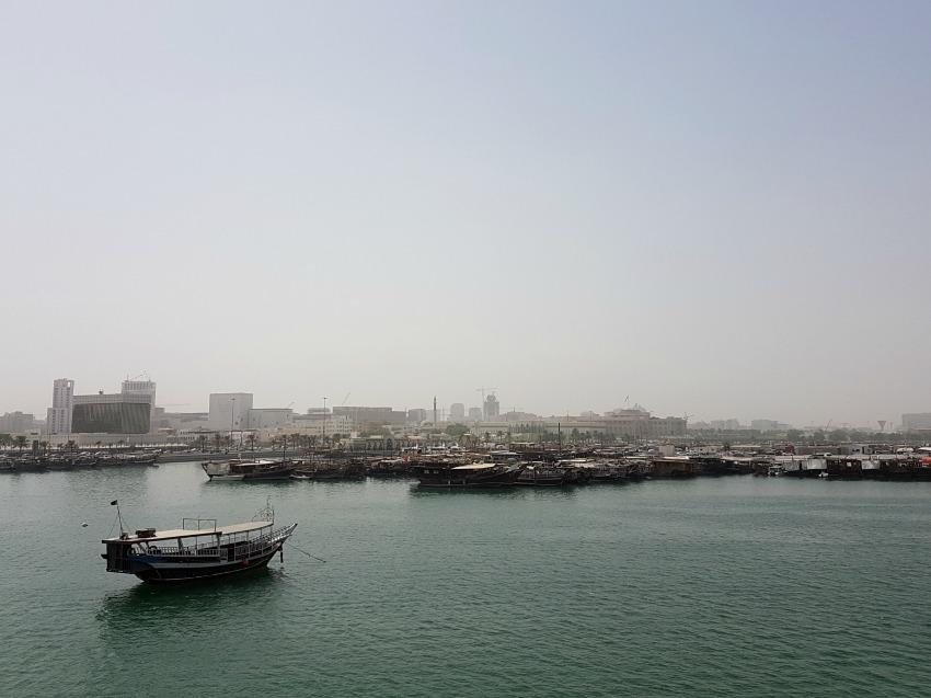 Doha Qatar Corniche