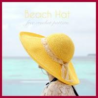 Sombrero de verano ala ancha