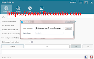 Simple Traffic Bot 31.8.1.8 Cracked