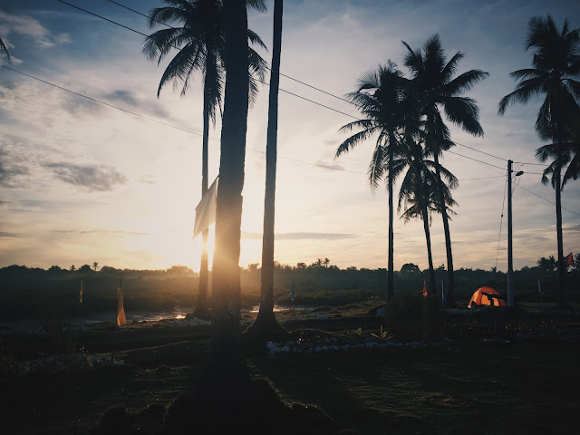 Sunrise in Mactan island